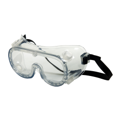 Clear Chemical Splash Goggles with Indirect Vent