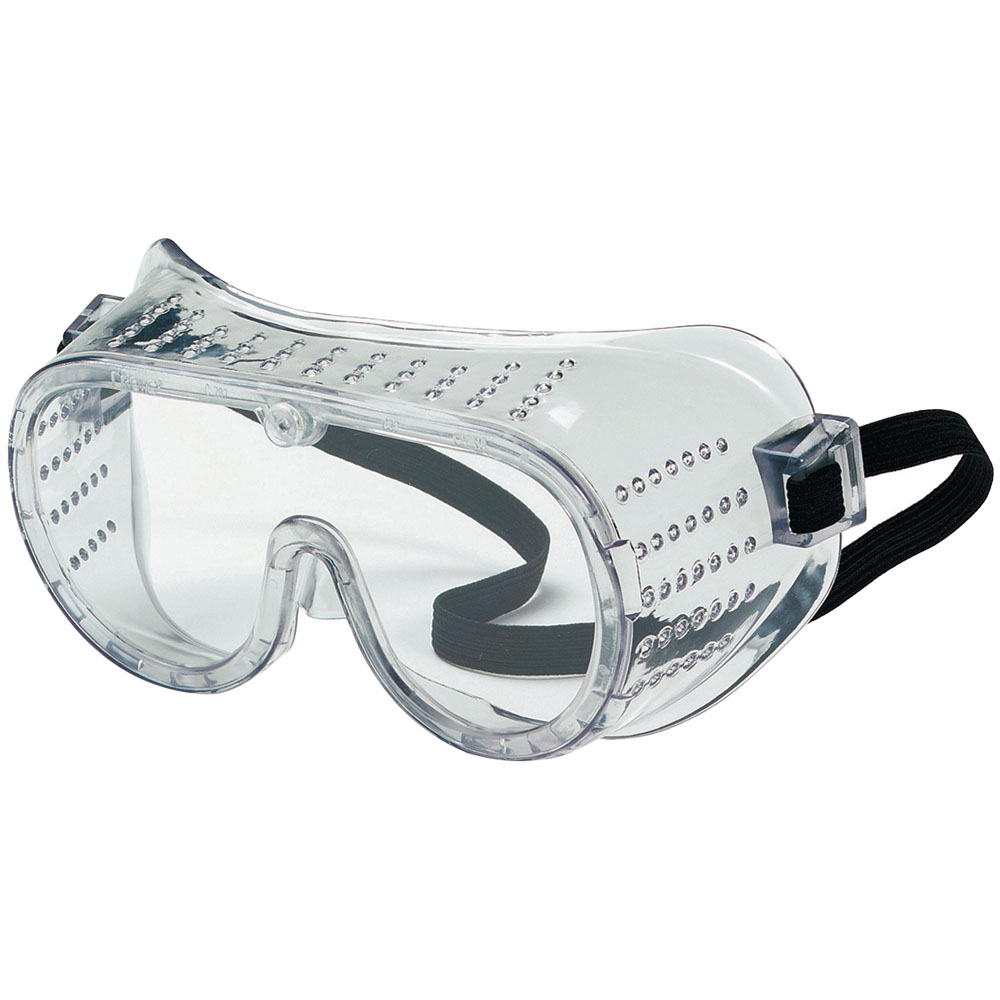 Clear Chemical Splash Goggles with Indirect Vent & Anti-Fog