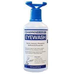 16 oz. Aero Eyewash Safety Solution with Eye-Opener