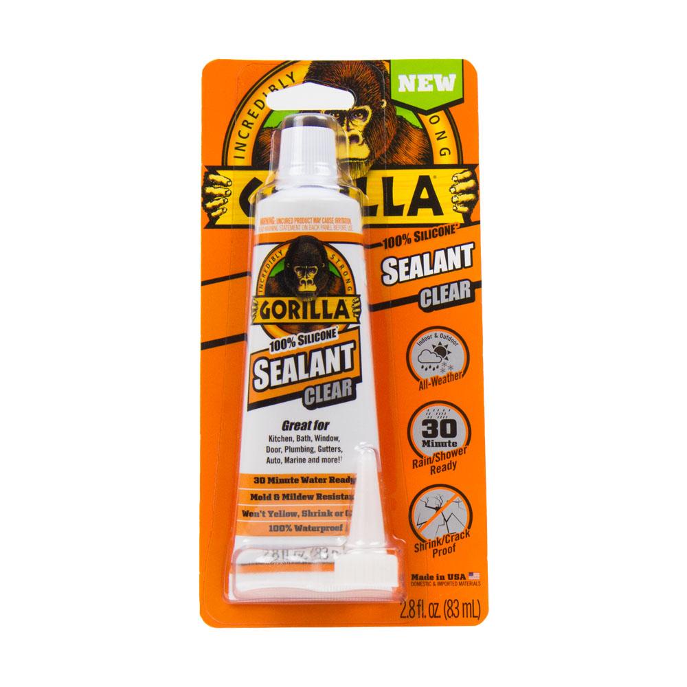2.8 oz. Gorilla 100% Silicone Sealant