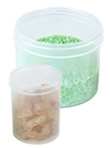 Natural Polypropylene Straight Sided Jars