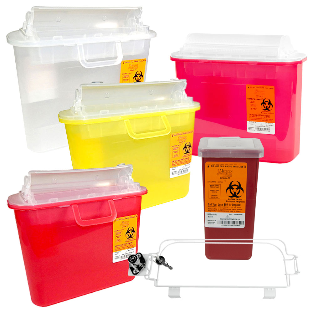 SHARPS-tainer™ Sharps Containers