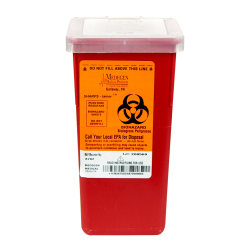 1 QT. Red Stackable SHARPS-tainer®