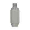 "1/4"" FNPT x 1/4"" MNPT Series 426 PVC Check Valves with FKM Seals"