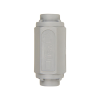"1/8"" FNPT x 1/8"" FNPT Series 426 PVC Check Valves with FKM Seals"
