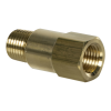 "1/4"" MNPT x 1/4"" FNPT Series 410 Brass Check Valve with Viton™ Seals - 1 PSI"