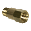 "1/4"" MNPT x 1/4"" FNPT Series 410 Brass Check Valve with Viton™ Seals - 1/3 PSI"