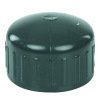 "1-1/4"" Schedule 80 Gray PVC Threaded Cap"