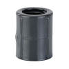 """1/2"""" Schedule 80 Gray PVC Threaded Coupling"""
