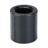 """3/4"""" Schedule 80 Gray PVC Threaded Coupling"""