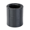 """1"""" Schedule 80 Gray PVC Threaded Coupling"""