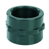 """2"""" Schedule 80 Gray PVC Threaded Coupling"""