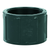 """4"""" Schedule 80 Gray PVC Threaded Coupling"""