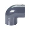 "2"" Schedule 40 Gray PVC Socket 90° Elbow"