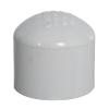 "3/4"" Schedule 40 White PVC Socket Cap"