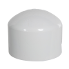 "2"" Schedule 40 White PVC Socket Cap"