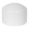 "6"" Schedule 40 White PVC Socket Cap"