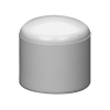 "1/2"" Schedule 40 White PVC Socket Cap"