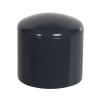 """3/4"""" Schedule 40 Gray PVC Socket Cap"""