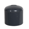 "1"" Schedule 40 Gray PVC Socket Cap"