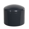 "1-1/4"" Schedule 40 Gray PVC Socket Cap"