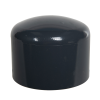 "2-1/2"" Schedule 40 Gray PVC Socket Cap"