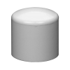 "3/4"" Schedule 40 White PVC Socket Cap"