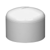 "2"" White Schedule 40 PVC Socket Cap"