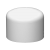 "2-1/2"" Schedule 40 White PVC Socket Cap"