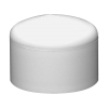 "3"" Schedule 40 White PVC Socket Cap"