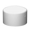 "6"" Schedule 40 White PVC Socket Cap"
