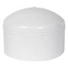 "8"" Schedule 40 White PVC Socket Cap"