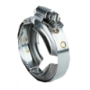 "1-19/32"" ID 100 Series Worm Screw Clamp (50 - 60 in/lbs Torque)"