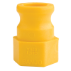 "3/4"" Adapter x 3/4"" FGHT Fitting with PVC Gasket"