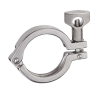 """1-1/2"""" Stainless Steel Sanitary Single Pin Clamp"""