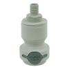 "3/8"" Hose Barb Valved In-Line CPC™ Non-Spill Coupling Body (Insert Sold Separately)"