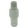 "3/4"" NPT Valved CPC™ Pipe Thread Non-Spill Coupling Insert (Body Sold Separately)"