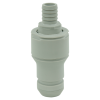 "1/2"" Hose Barb Valved CPC™ Coupling Insert"