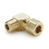 "1/2"" Tube x 1/2"" MPT Brass Compress-Align® Male Elbow"