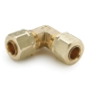 "1/2"" Tube x 1/2"" Tube Brass Compress-Align® Union Elbow"
