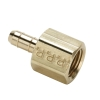".096""ID Tube X 1/8""FNPT Dubl-Barb® Brass Female Connector"