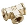 "1/2""FPT Brass Union Tee"
