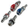 Everis™ LQ2 Series Chrome-Plated Brass Connectors for Liquid Cooling
