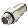 3/8 SAE-6 BLQ6 Aluminum Valve Body (Insert Sold Separately)