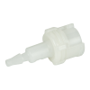 3mm Hose Barb Acetal In-Line Coupling Body - Straight Thru (Insert Sold Separately)