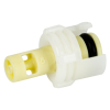 "1/16"" Hose Barb Polypropylene In-Line Coupling Insert - Straight Thru (Body Sold Separately)"