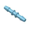 "1/2"" Polypropylene Antimicrobial Coupler"