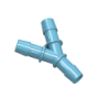"5/16"" Polypropylene Antimicrobial Y Connector"