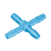 "1/4"" Polypropylene Antimicrobial Cross"