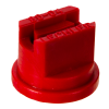 ISO Size 04 Red 80° Standard Flat Spray Nozzle